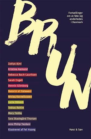 Blue cover with the title written in cream across. All author names are in the left side with different colors as background