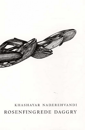 White background. From the left a drawing of black whales emerging from each other like they're swimming across the front cover. Author and title in bottom