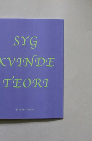 Purple, lilac background with book title in green text